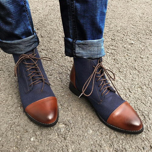 Coloured Men's Men Boots
