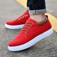 Load image into Gallery viewer, Casual Plain Strappy Breathable Casual Canvas Shoes