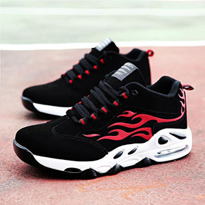 Autumn Winter Color Block Warm Soft Bottom Sport Casual Shoes