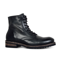 Load image into Gallery viewer, Men's Fashion Retro Square With Lace-Up Men Boots