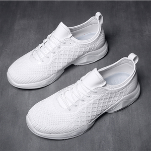 Men's Breathable Personality Crocodile Mesh Mesh Sneakers