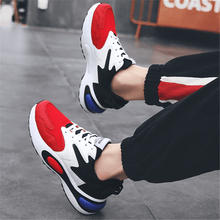 Load image into Gallery viewer, Men's Casual Fashion Color   Matching Sneakers