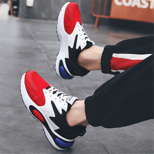 Men's Casual Fashion Color   Matching Sneakers
