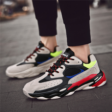Load image into Gallery viewer, Men's Wild Color Stitching   Breathable Comfortable Sneakers