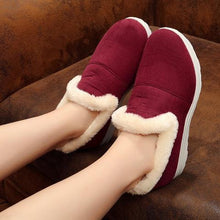 Load image into Gallery viewer, Women Casual Warm Snow Loafers Boots Slip On Shoes