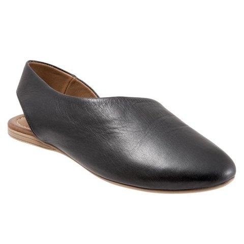 Women Closed Back Slip-on Flat Heel Shoes