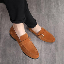 Load image into Gallery viewer, Solid Suede Classic Flat Shoes