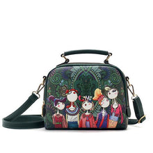 Load image into Gallery viewer, Women Bohemian Forest Series Crossbody Bag Flower Printed Handbag