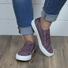 Load image into Gallery viewer, Women Crisscross lace Canvas Sneaker