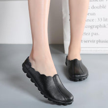 Load image into Gallery viewer, Large size Backless Flat Soft Sole Casual Loafers
