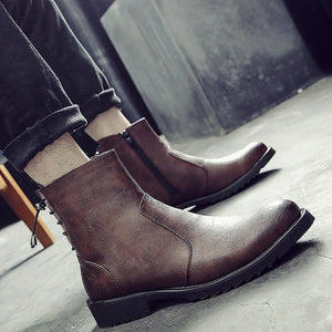 Men's Pointed Martin Men Boots