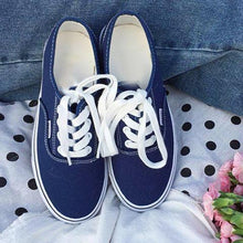 Load image into Gallery viewer, Women Canvas Sneakers Casual Comfort Large Size Shoes