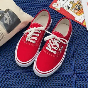 Women Canvas Sneakers Casual Comfort Large Size Shoes