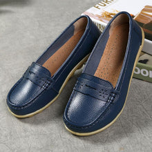 Load image into Gallery viewer, Comfy Sole Artificial Leather Breathable Slip-on Soft Flat Loafers