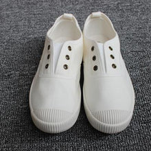 Load image into Gallery viewer, Women Shell Toe Athletic Sneakers Slip on Casual Canvas Non-slip Shoes Without Laces