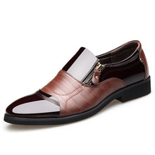 Load image into Gallery viewer, Orthopaedic Business Casual British Pointed Leather Shoes