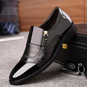 Orthopaedic Business Casual British Pointed Leather Shoes