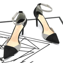 Load image into Gallery viewer, Stiletto Heel Adjustable Buckle Elegant Shoes