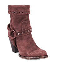 Load image into Gallery viewer, Brown Spring/Fall Chunky Heel Boots