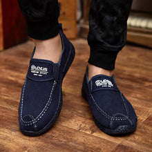 Load image into Gallery viewer, Casual Slip-on Loafers Canvas Flats Shoes