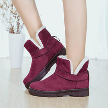 Load image into Gallery viewer, Women Fashion Suede Ankle Cotton Booties Snow Boots