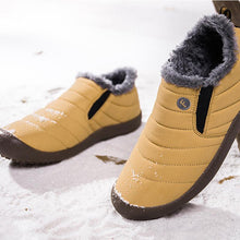 Load image into Gallery viewer, Women Large Size Unisex Waterproof Fur Lining Snow Boots