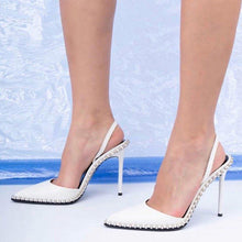 Load image into Gallery viewer, Daily Beading Casual Stiletto Heel Heels