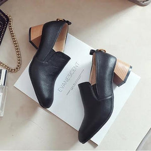 Women Casual Loafers Low Heel Slip On Shoes