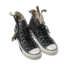 Load image into Gallery viewer, High-top zipper couple canvas shoes