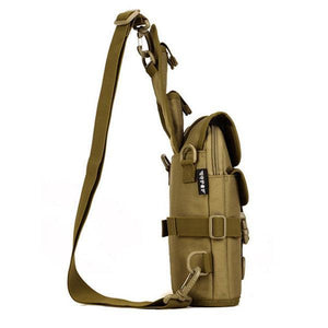 Outdoor Tactical Shoulder Bag Double Use Sports Hiking Bag