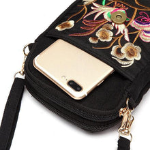 Load image into Gallery viewer, Tribal Retro Shoulder Bag Canvas Chinese Style Phone Bag