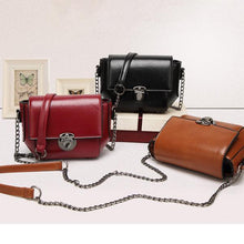 Load image into Gallery viewer, Women PU Leather Retro Mini Crossbody Bag Shoulder Bag