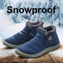 Load image into Gallery viewer, Women Unisex Waterproof Fur Lining Snow Boots