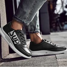 Load image into Gallery viewer, Men's lace-up breathable casual versatile sneakers