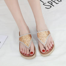 Load image into Gallery viewer, Summer Shoes Woman Sandals Sandalias Slides Wedges Shoes For Women Llat Ladies Sandals
