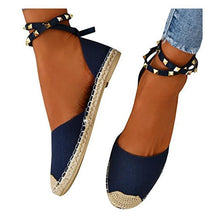 Load image into Gallery viewer, Plus Size Comfortable Adjustable Buckle Rivet Sandals
