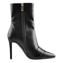 Load image into Gallery viewer, Big buckle Pointed Toe Stiletto high Heel Boots