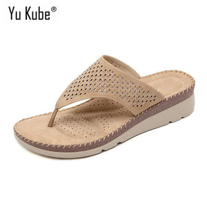 Summer Shoes Woman Sandals Flat Sandalias Slides Flip Flops Wedges Shoes for Women Beach Sandals Plus Size