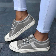 Load image into Gallery viewer, Plain Round Toe Casual Travel Sneakers