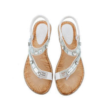 Load image into Gallery viewer, Women Colorful Summer Flat Heel Sandals
