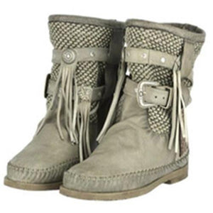 FLAT HEEL PU DAILY WINTER BOOTS