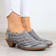 Load image into Gallery viewer, Women Casual Comfy Elastic Band Plus Size Shoes
