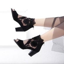 Load image into Gallery viewer, Women Peep Toe Hight Heel  Pumps