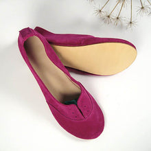 Load image into Gallery viewer, Women Nubuck Flats Casual Comfort Soft Shoes