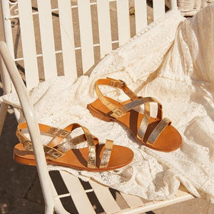 Summer Flat Open Toe Buckle Flat Sandals