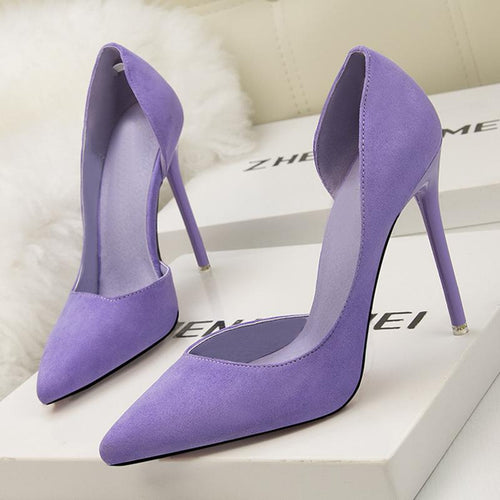 Summer/Spring Stiletto Heel Pointed Toe Elegant Shoes