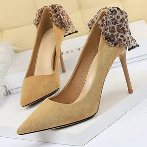 Pointed Toe Stiletto Heel Party Heels