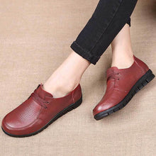 Load image into Gallery viewer, Women Flats Genuine Leather Casual Loafers Shoes