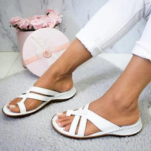 Load image into Gallery viewer, Summer Casual Daily Flip-Flop Plain Flat Sandals