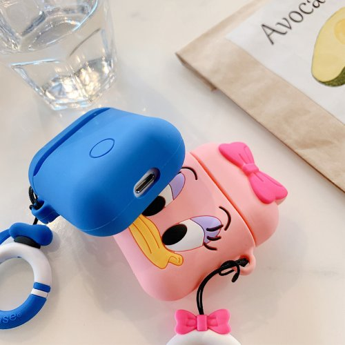Pink Duck Airpods Case💕